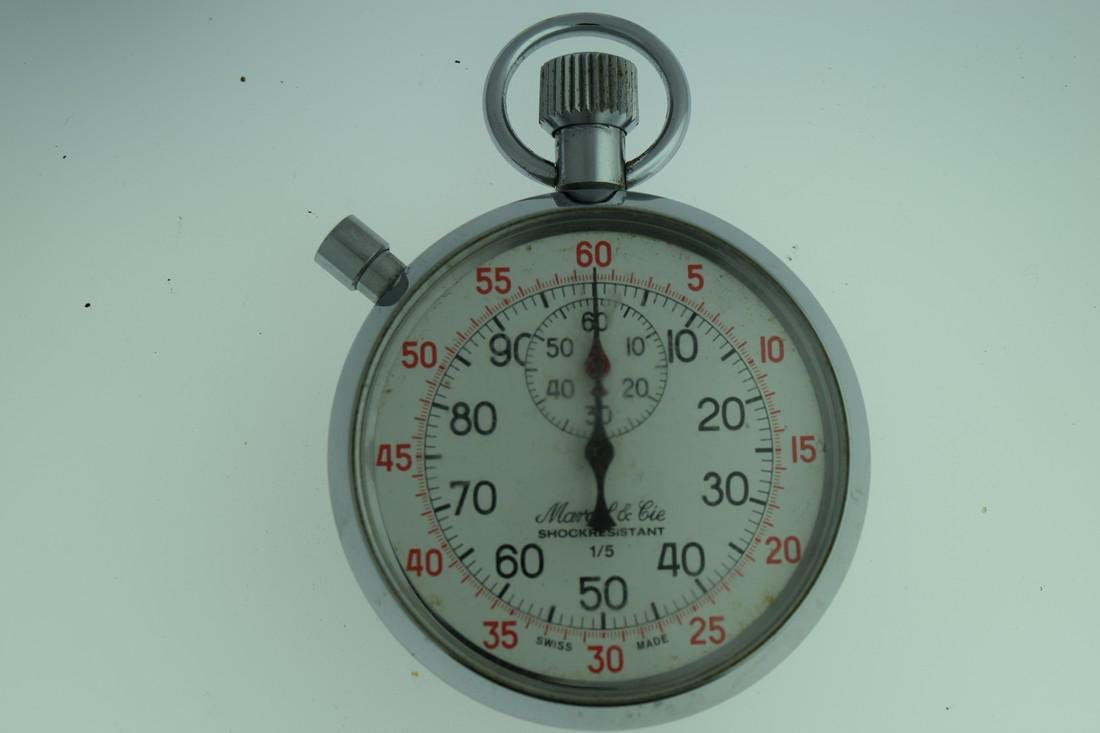 Marcel & Cie 60 Second Two Button Stop Watch, 1970s
