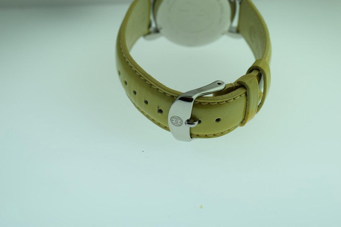Michele Diamond Bezel Chronograph Watch - 6