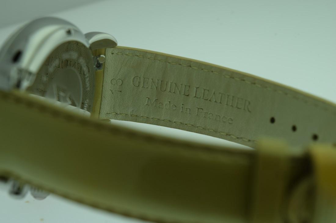 Michele Diamond Bezel Chronograph Watch - 8
