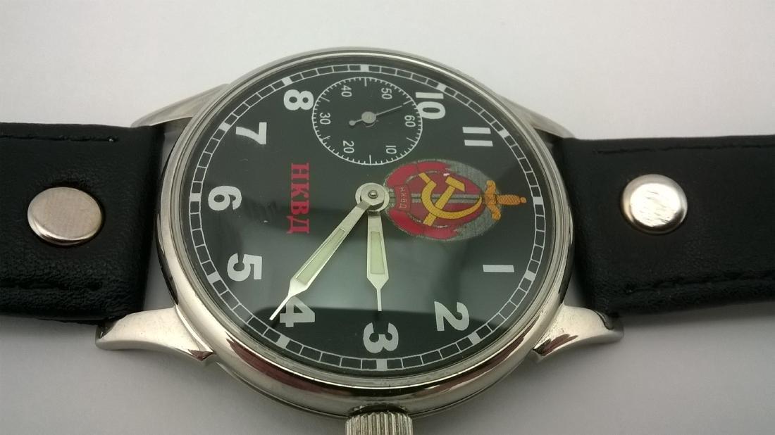 Molnija USSR men's military mariage watch 1980-1989 - 10