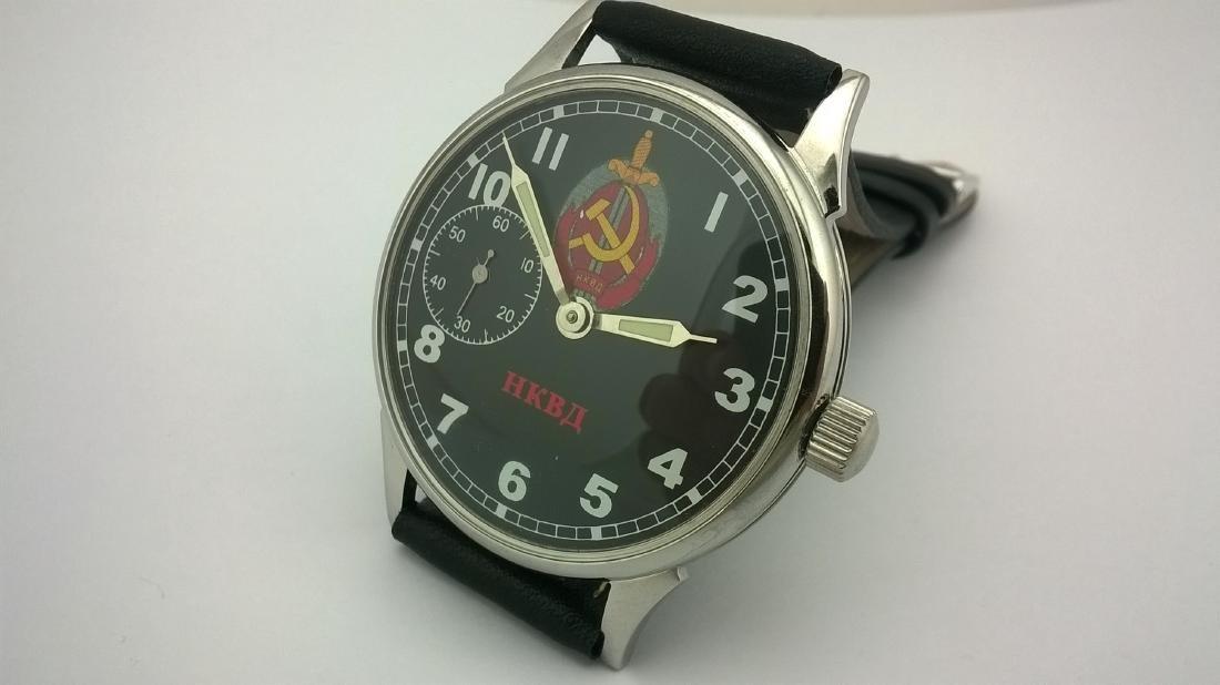 Molnija USSR men's military mariage watch 1980-1989