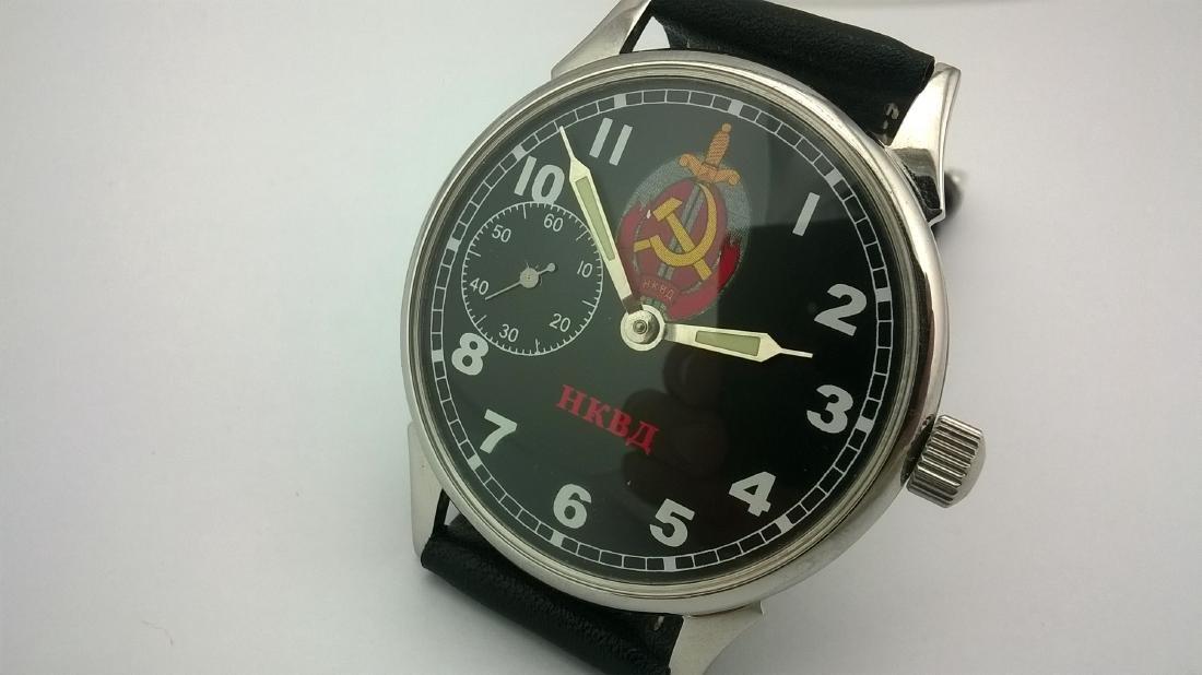Molnija USSR men's military mariage watch 1980-1989 - 2