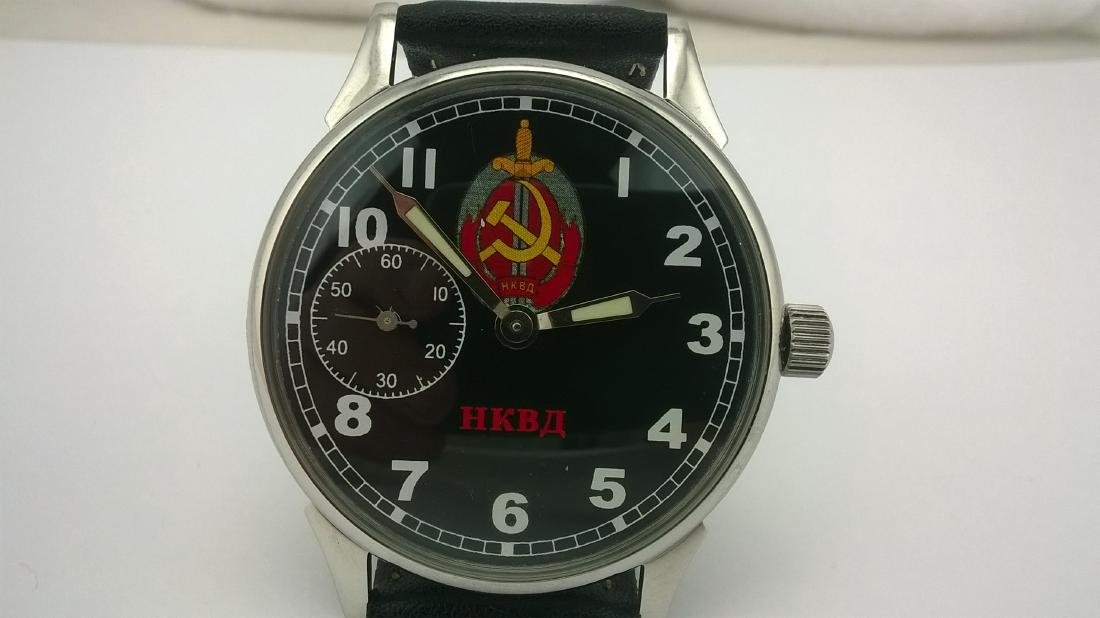 Molnija USSR men's military mariage watch 1980-1989 - 3