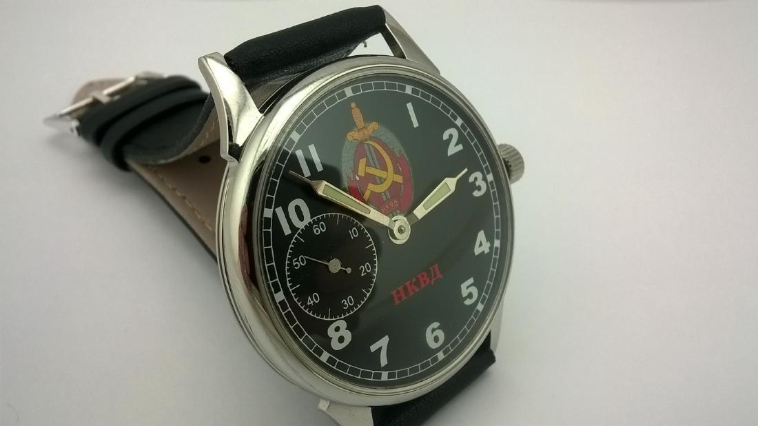 Molnija USSR men's military mariage watch 1980-1989 - 4