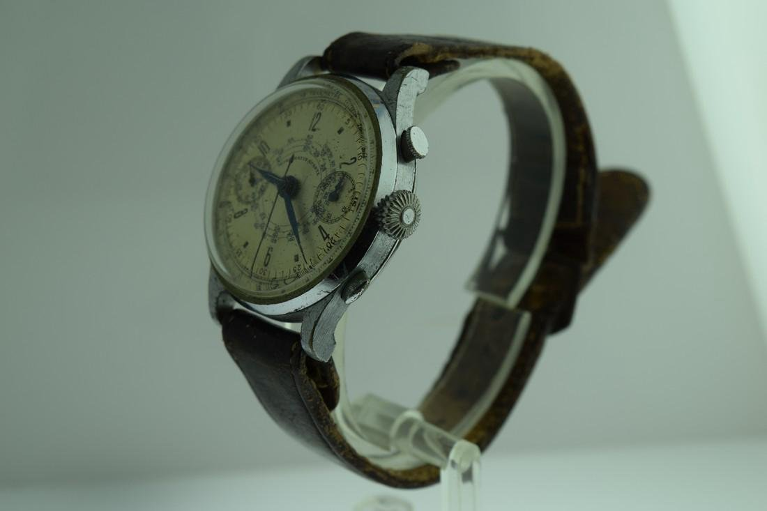 Mono-Rattrapante Two Register Chronograph Watch, 1950s - 3