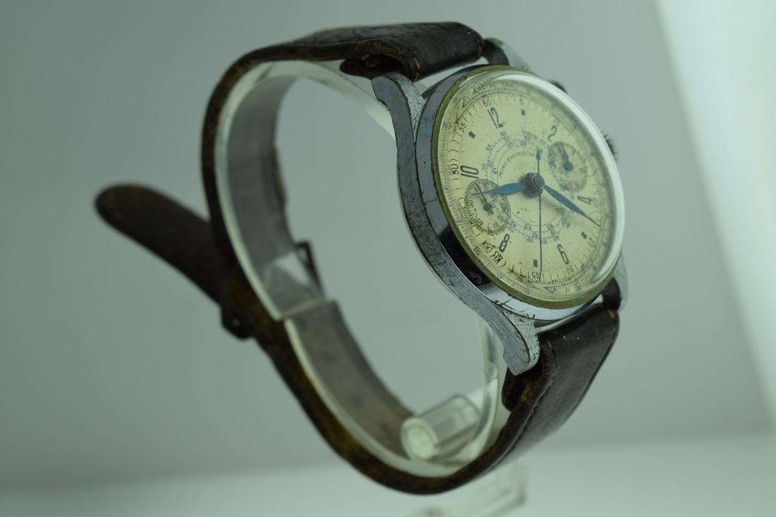 Mono-Rattrapante Two Register Chronograph Watch, 1950s - 4