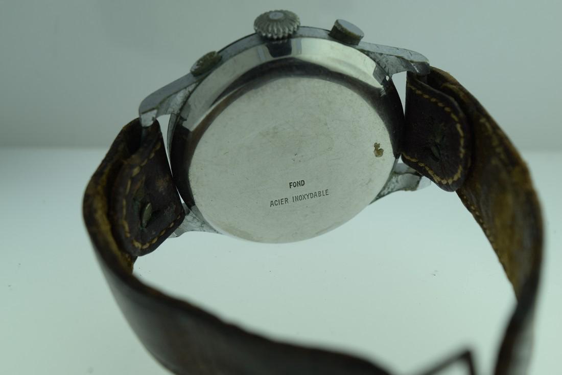 Mono-Rattrapante Two Register Chronograph Watch, 1950s - 7