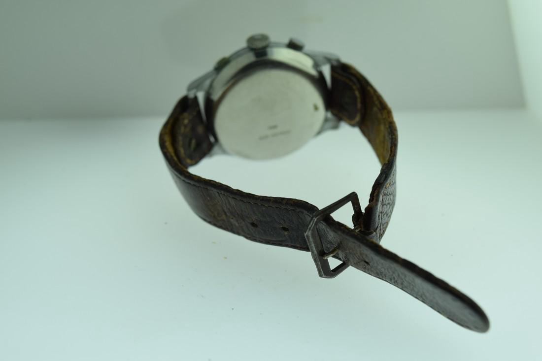 Mono-Rattrapante Two Register Chronograph Watch, 1950s - 8