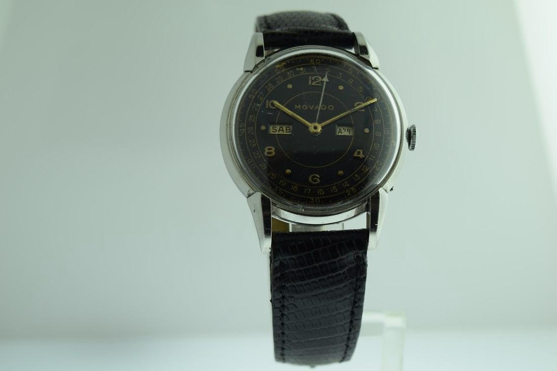 Vintage Movado Triple Calendar Watch, 1950s