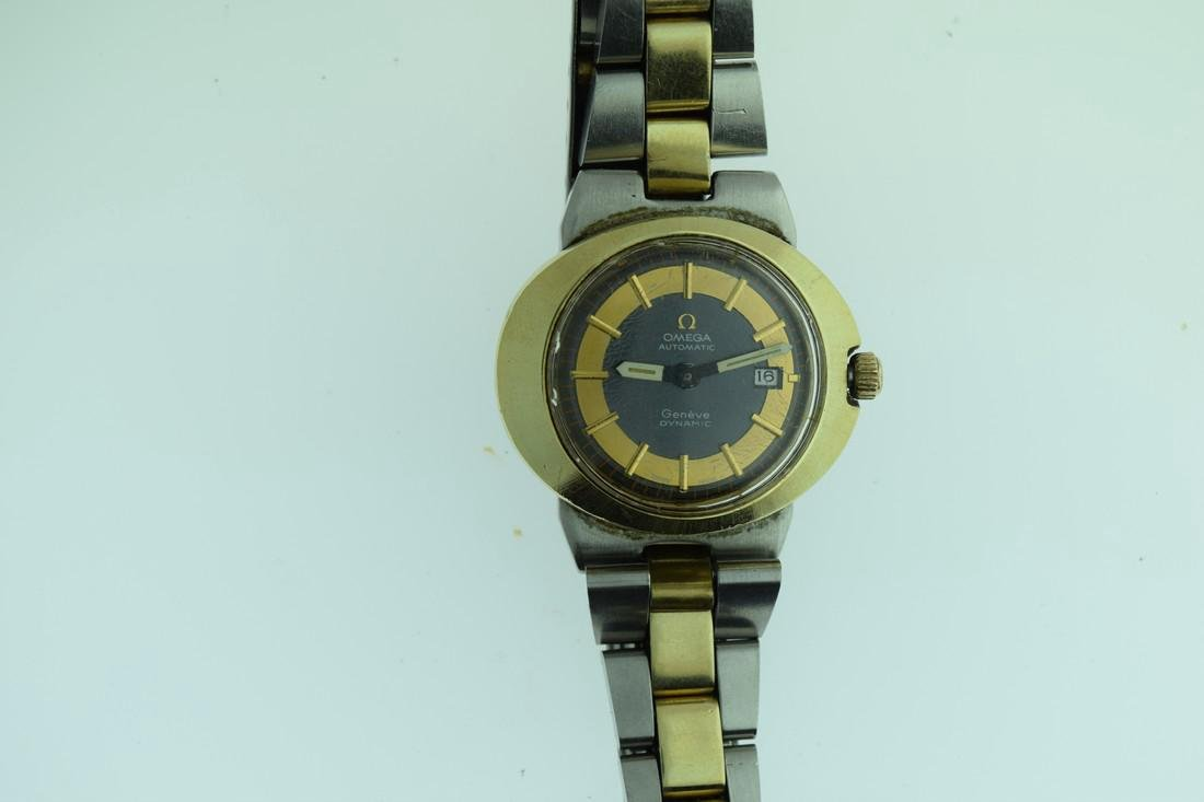 Ladies Omega Two Tone Automatic Watch