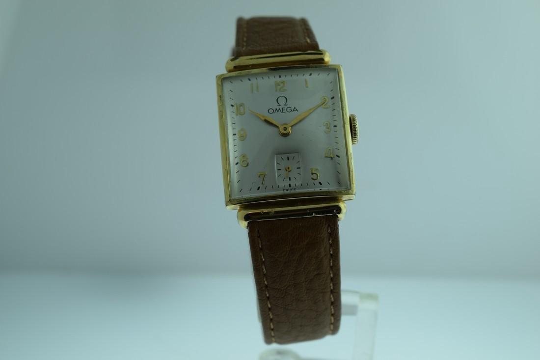 Vintage Omega Manual Gold Filled Watch, 1940s