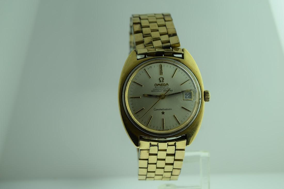 Vintage Omega Constellation Calendar Watch, 1970s