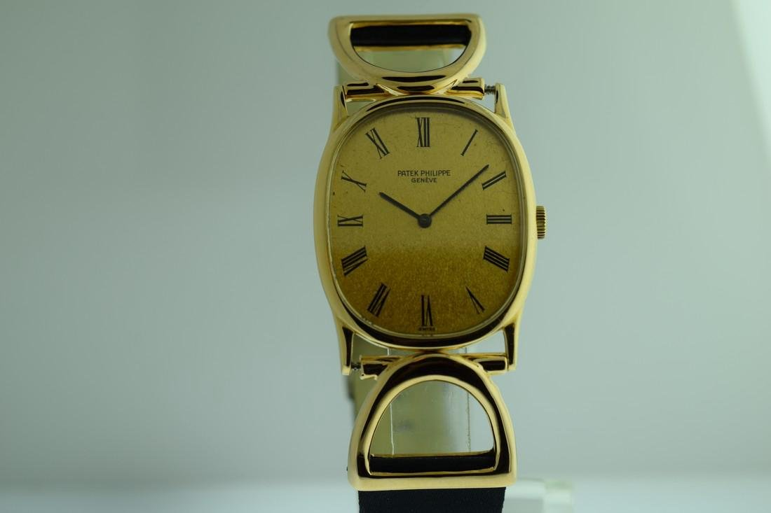 Vintage Patek Philippe 18K Solid Gold Driver Watch 1970