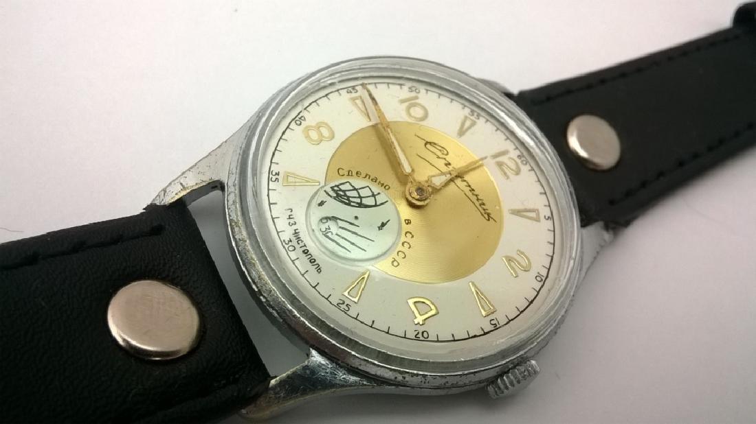 SPUTNIK Russian USSR men's watch. 1960s - 10