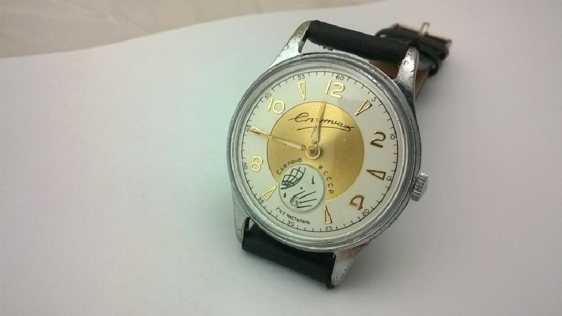 SPUTNIK Russian USSR men's watch. 1960s - 2