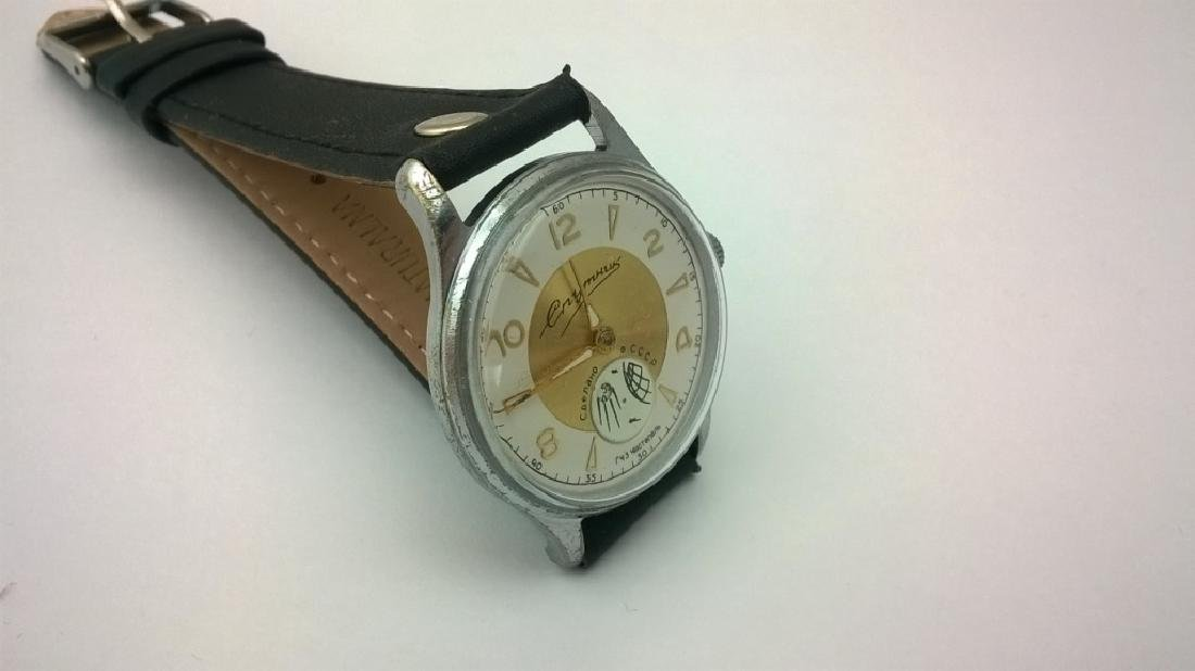 SPUTNIK Russian USSR men's watch. 1960s - 6
