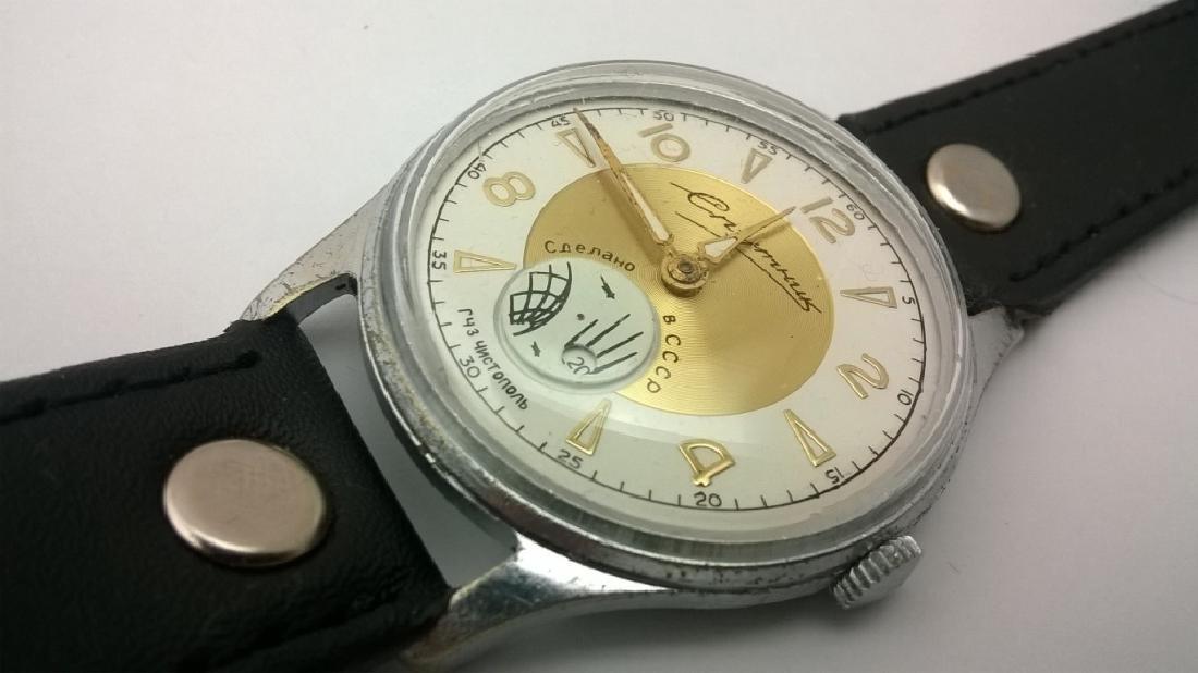 SPUTNIK Russian USSR men's watch. 1960s - 8