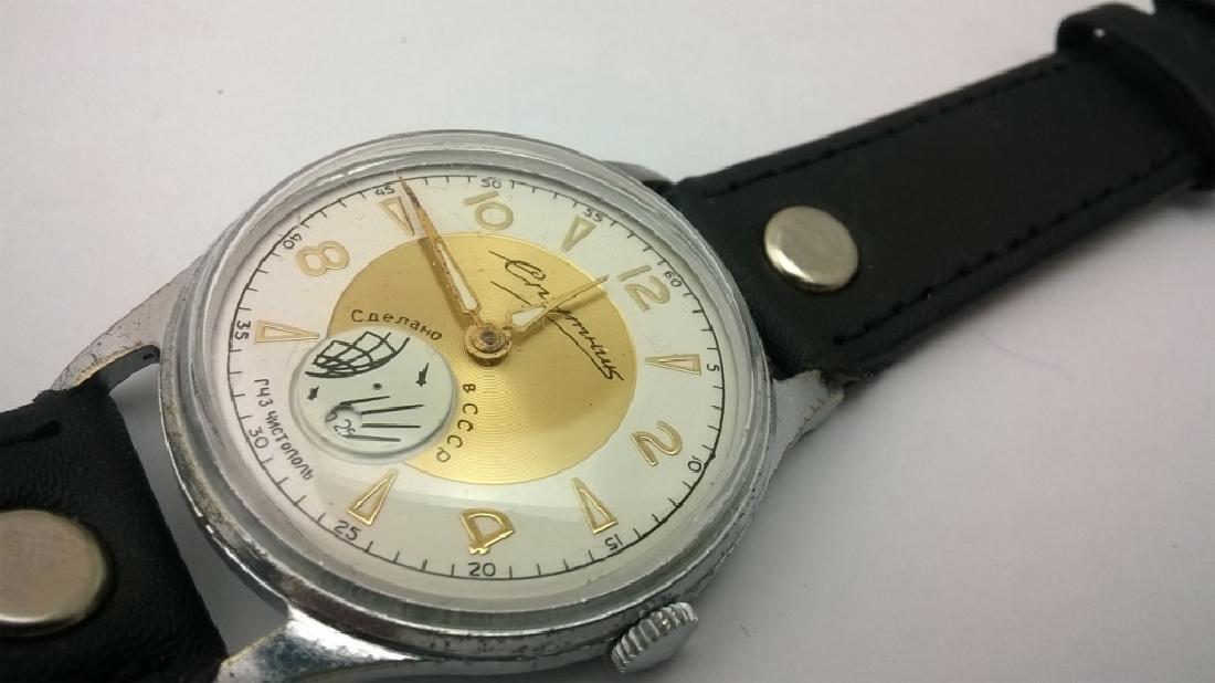 SPUTNIK Russian USSR men's watch. 1960s - 9