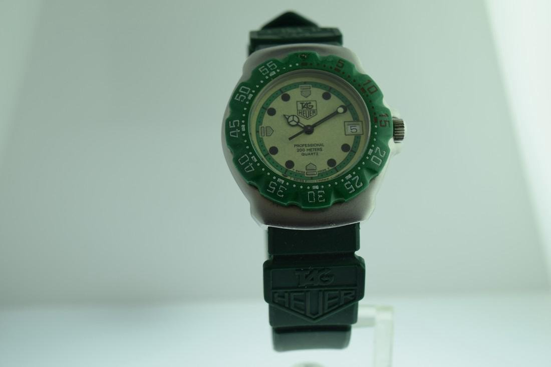 Tag Heuer Neon Dial Quartz Watch, 1980s
