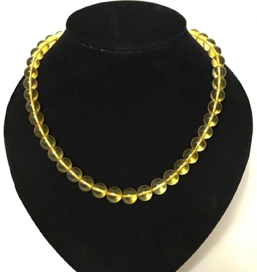 Vintage classic Baltic amber beads necklace - 2