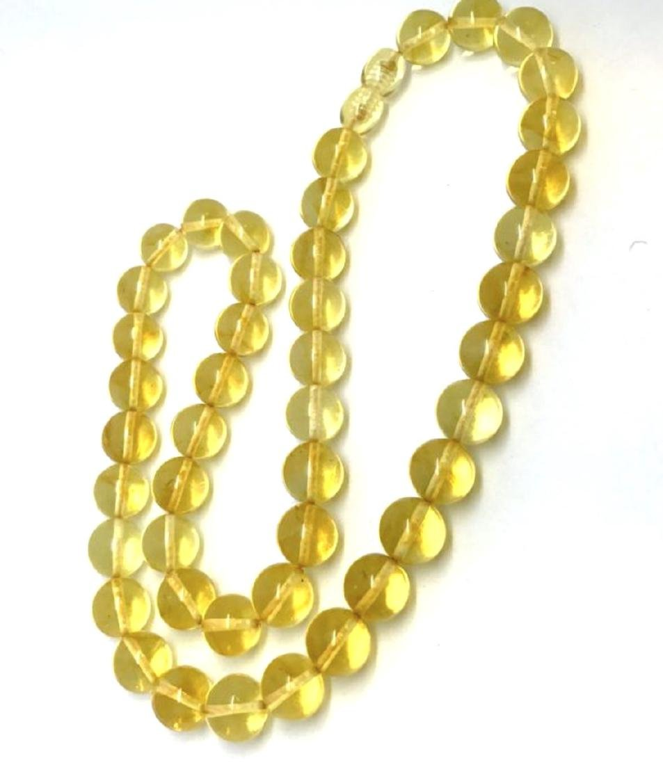 Vintage classic Baltic amber beads necklace - 5