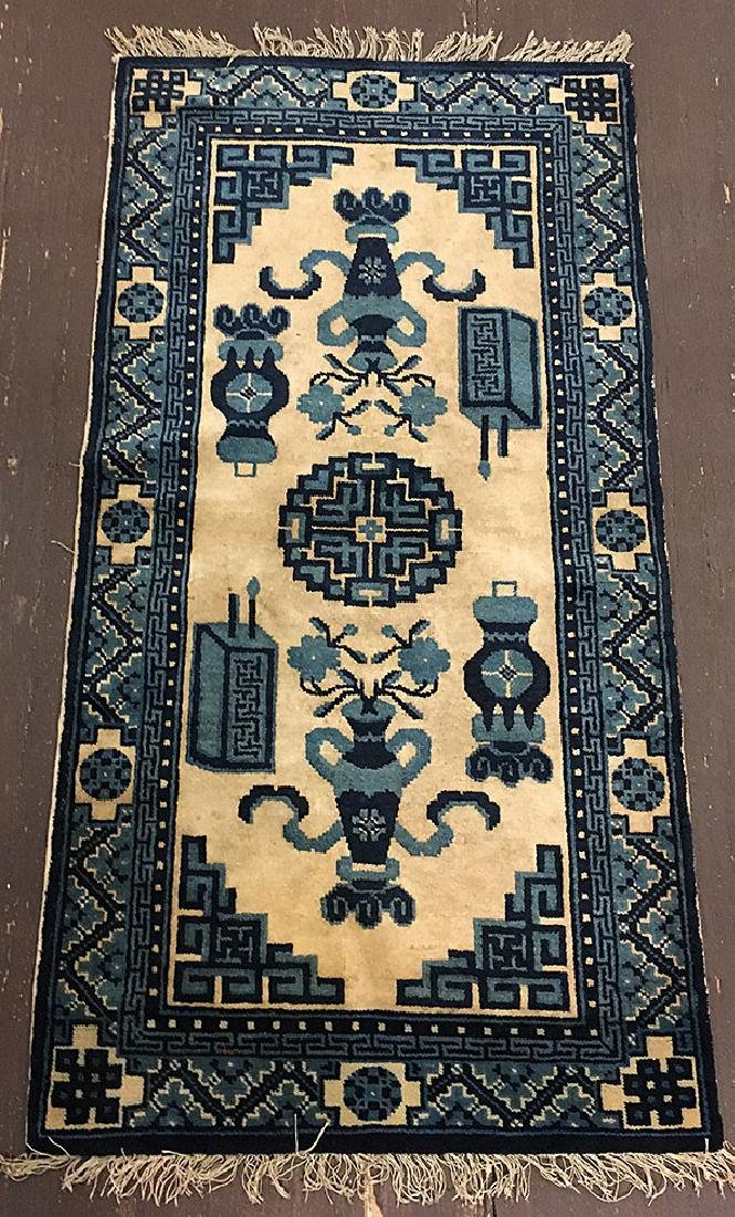 Bautou Chinese Floral Mat 4x2