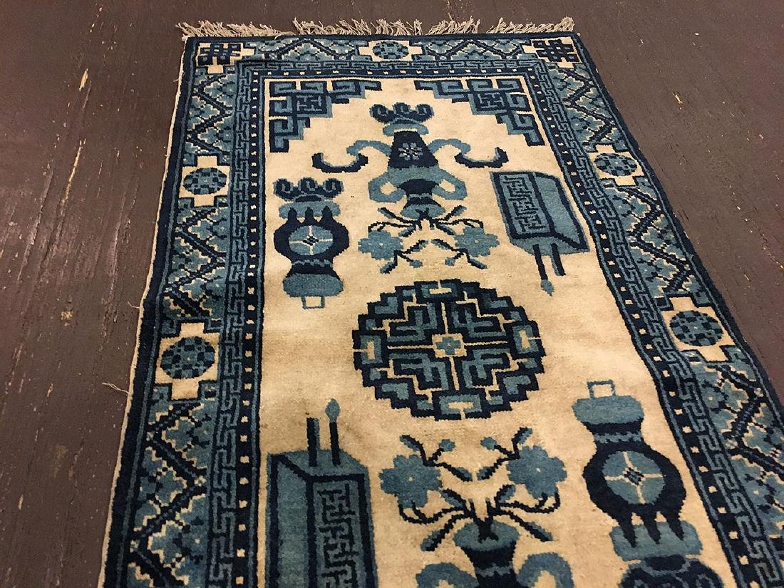 Bautou Chinese Floral Mat 4x2 - 4