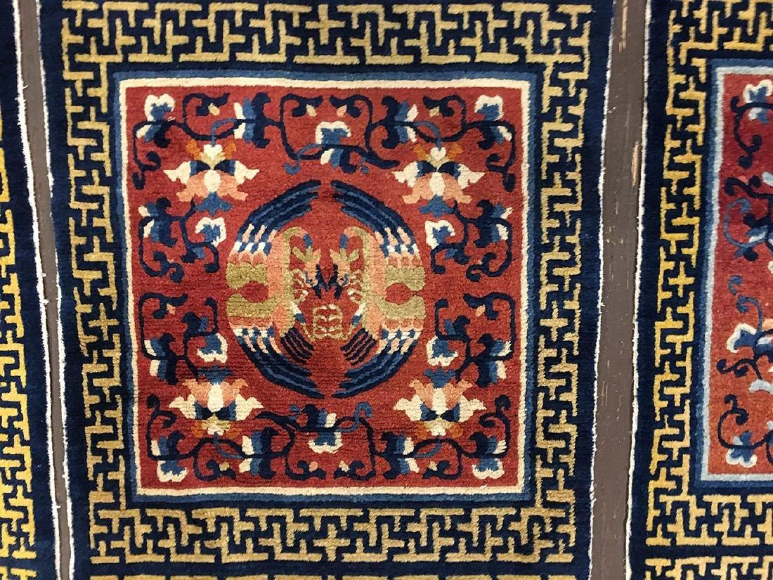 3 Tibetan Ninghsia Runner Rugs 10x2.6 - 6