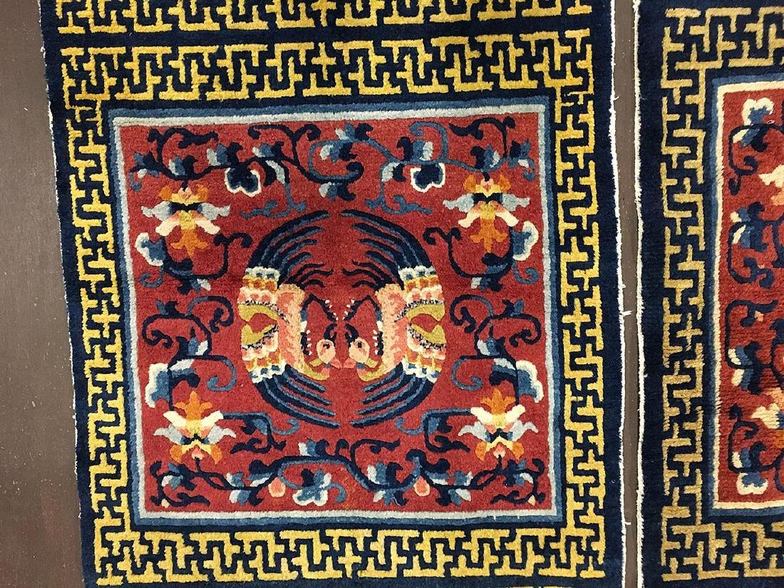 3 Tibetan Ninghsia Runner Rugs 10x2.6 - 7