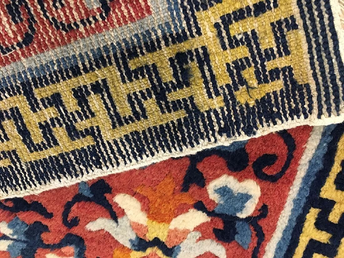 3 Tibetan Ninghsia Runner Rugs 10x2.6 - 9