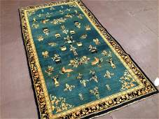 Early 20th Century Indo Chinese Rug 6.10x4.1