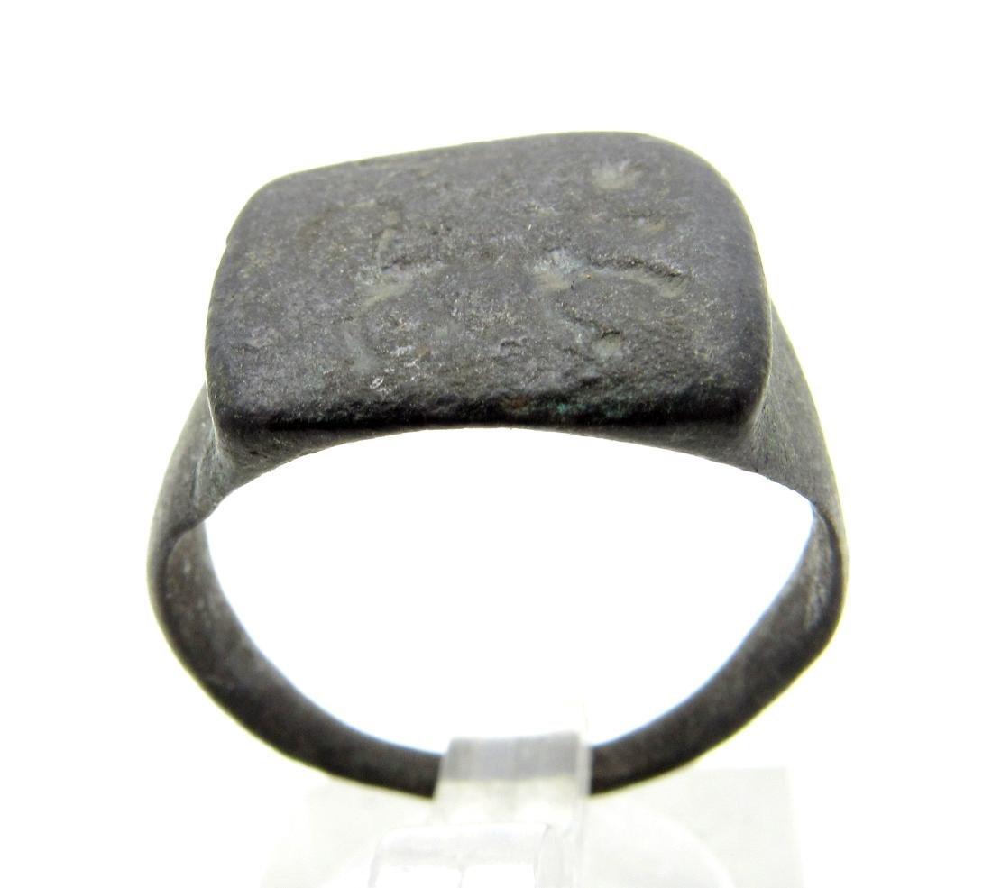Ancient Roman Ring with Centaur on Bezel - 2