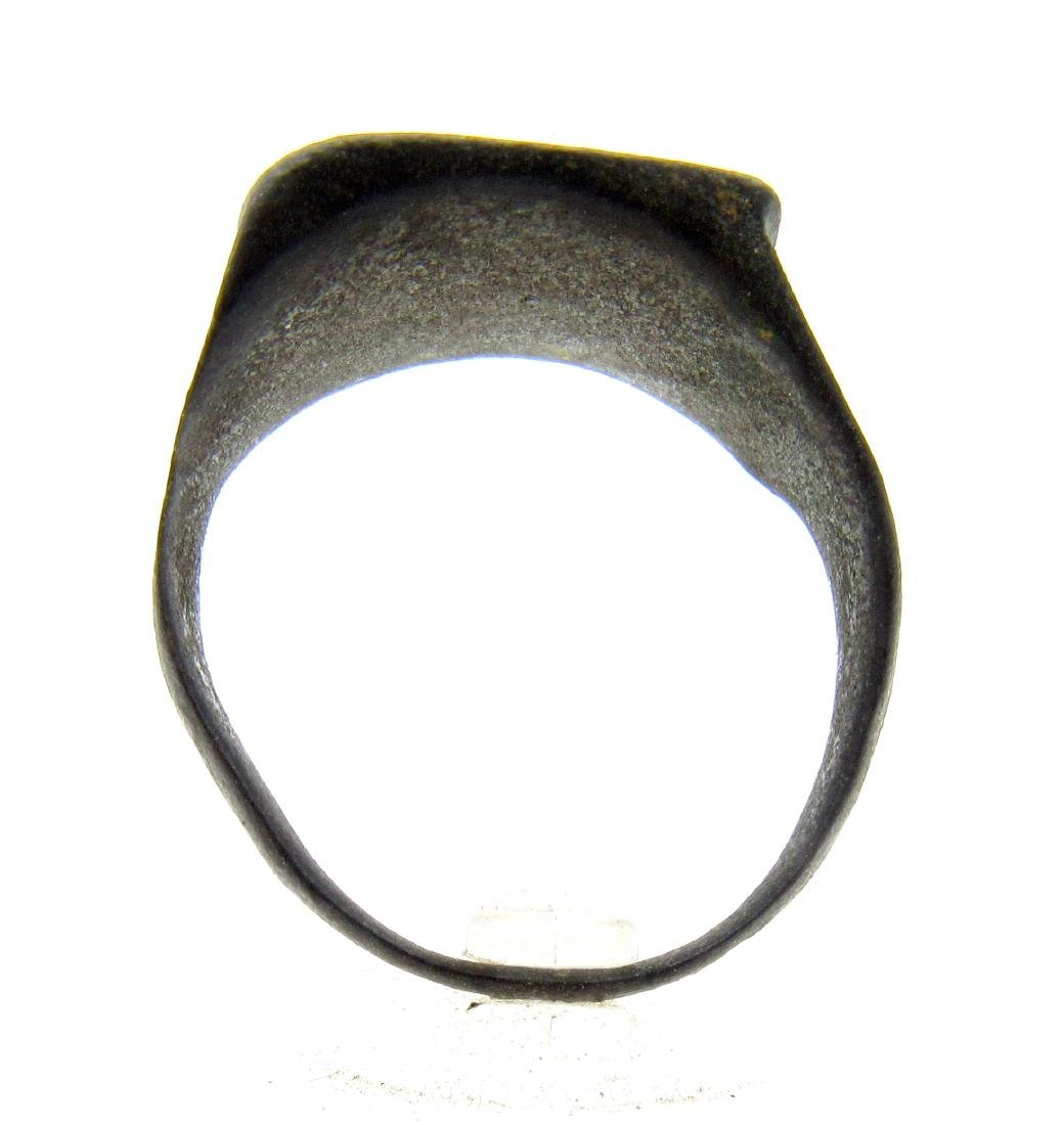 Ancient Roman Ring with Centaur on Bezel - 4