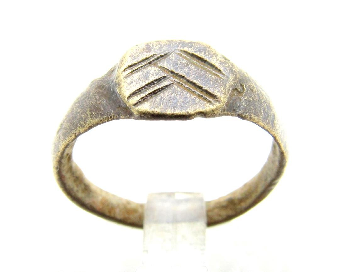 Medieval Viking Decorated Ring