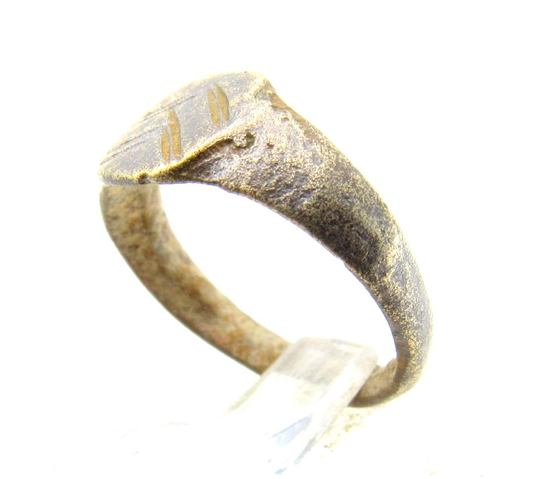 Medieval Viking Decorated Ring - 2
