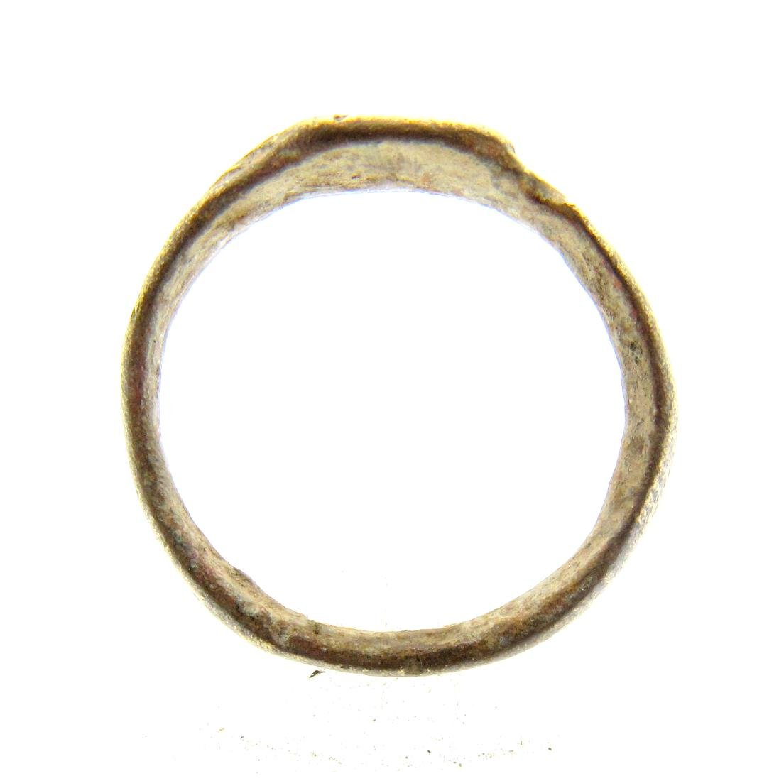 Medieval Viking Decorated Ring - 3