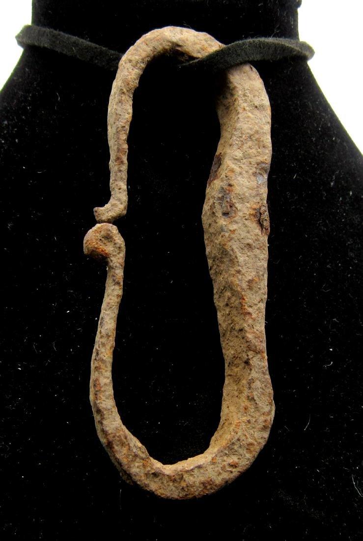 Ancient Roman Iron Firestarter Pendant - 2