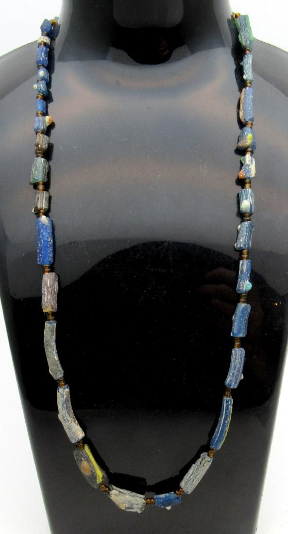 Ancient Viking Era Glass Necklace with 31 Beads