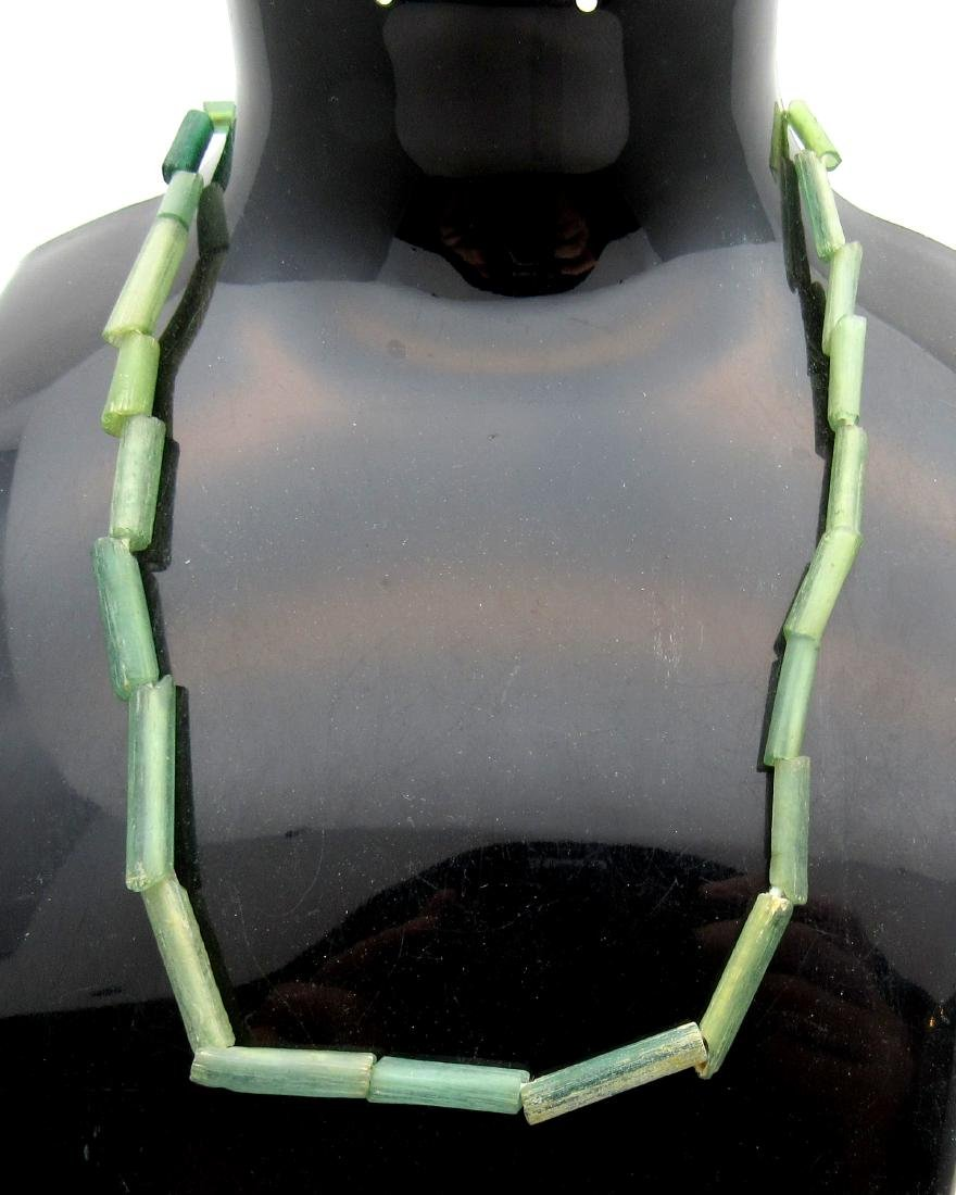 Ancient Viking Era Glass Necklace with 23 Beads