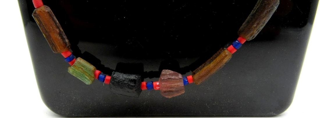 Ancient Viking Era Glass Necklace with 33 Beads - 2