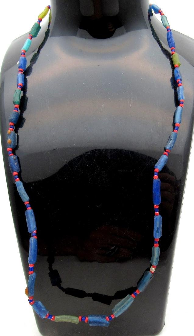 Ancient Viking Era Glass Necklace with 32 Beads