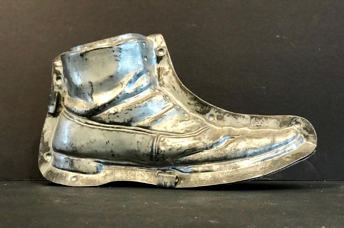 Charlie Chaplin's Shoe Chocolate Mold, Early 20thc