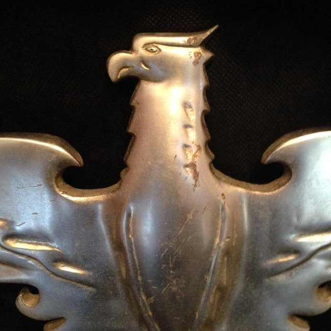 Cast Aluminum Eagle Plaque Mid 20th Century - 2
