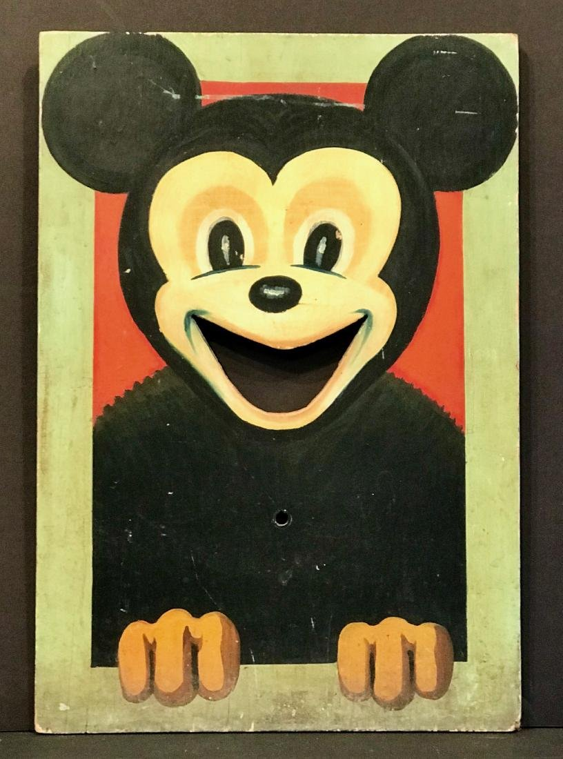Mickey Mouse Carnival Game Toss, Early 20th Century
