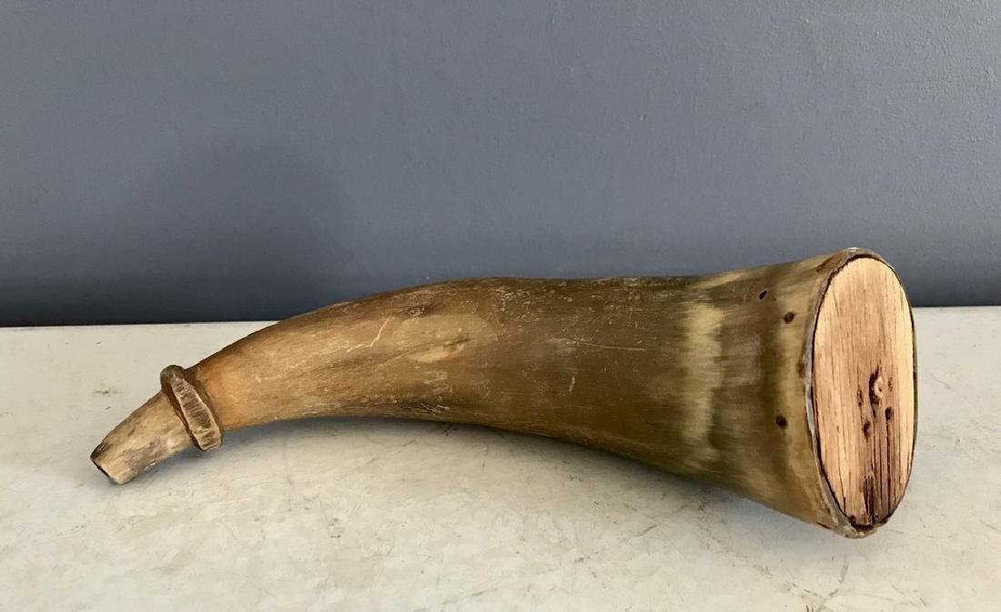 19th Century Gun Powder Horn