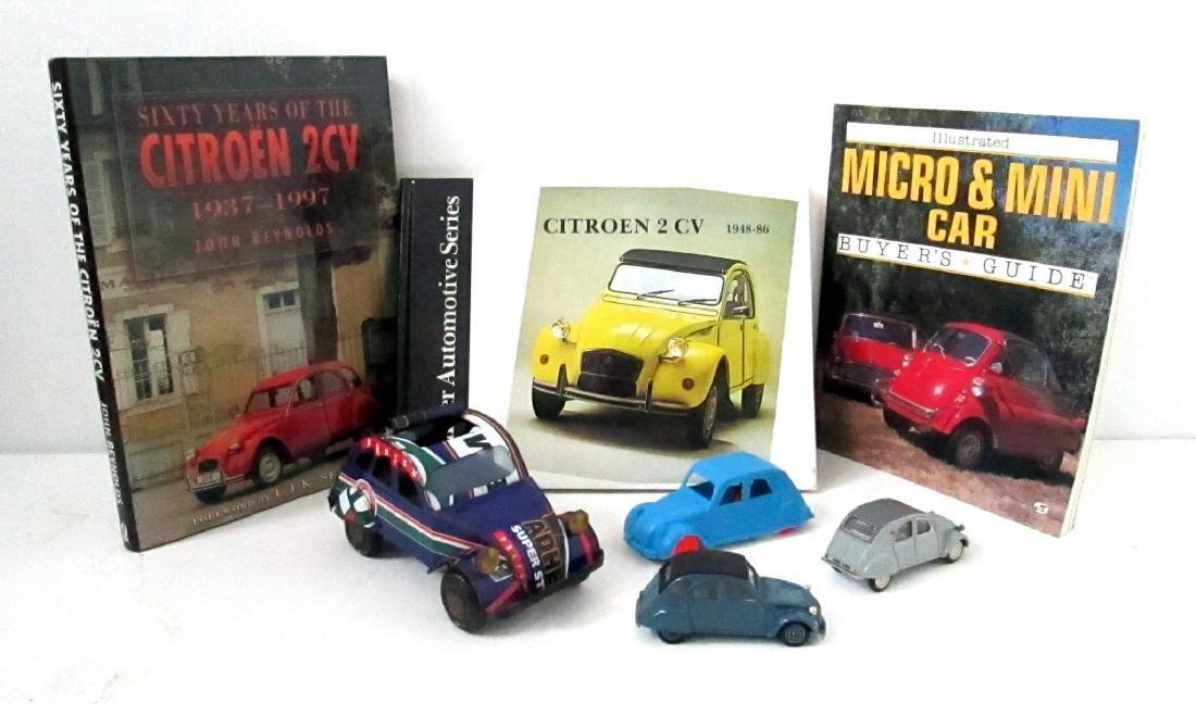 Vintage Citroen 2CV Grouping