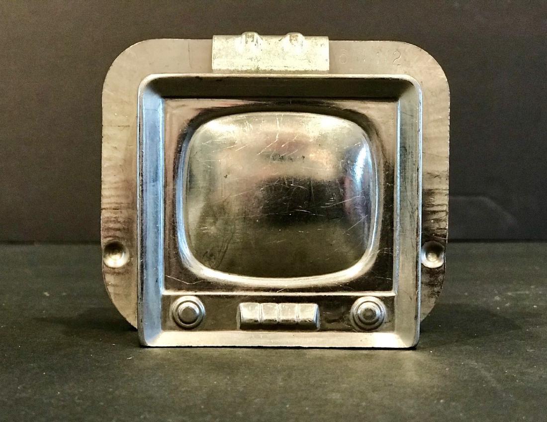 Tv Chocolate Mold, Mid 20th Century