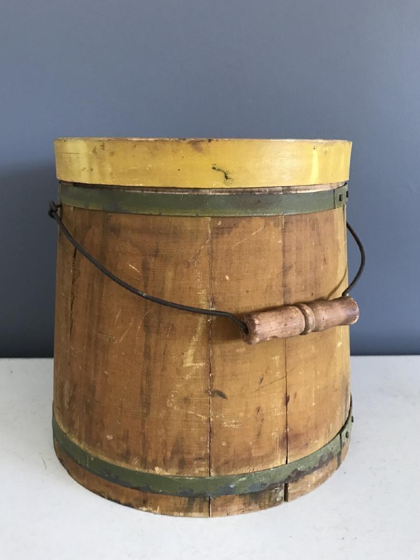 Early Firkin/Mince Meat Bucket