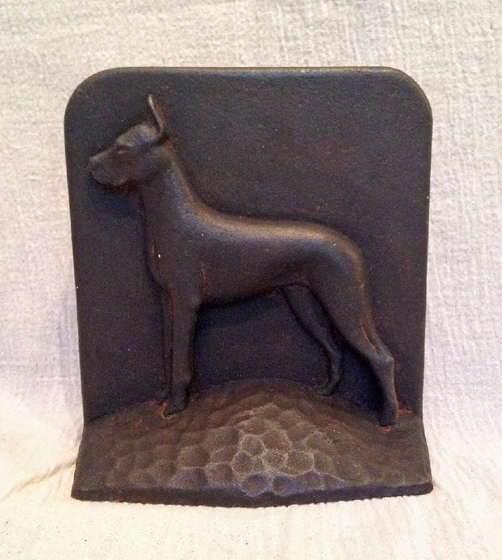 Cast Iron Great Dane Door Stop