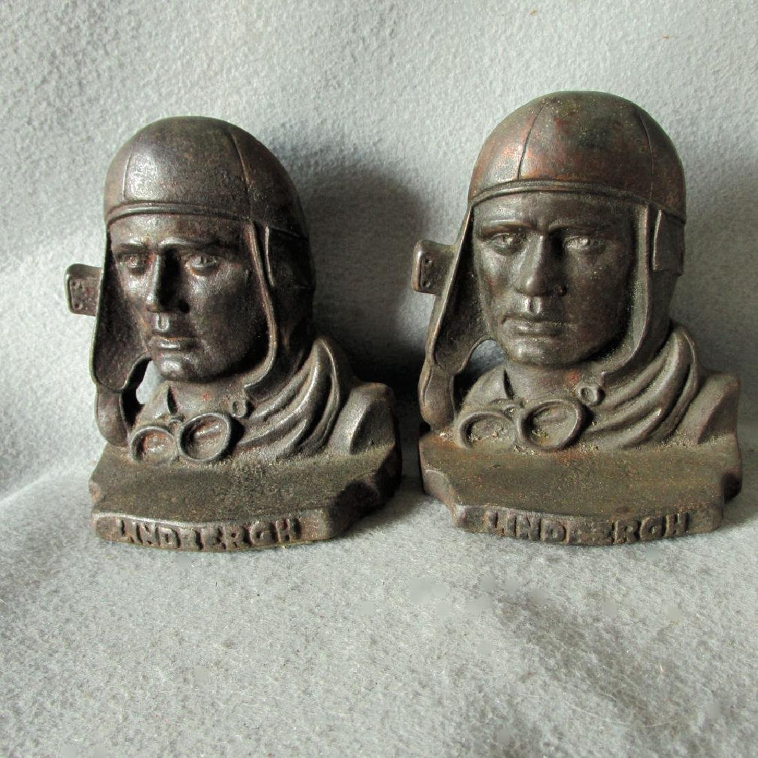 Charles Lindbergh Bookends, Airplane Commemorative